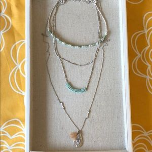 Frieze Layering Necklace
